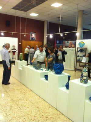 İzmir Nida Olcar Cini Sergisi 8.5.2012
